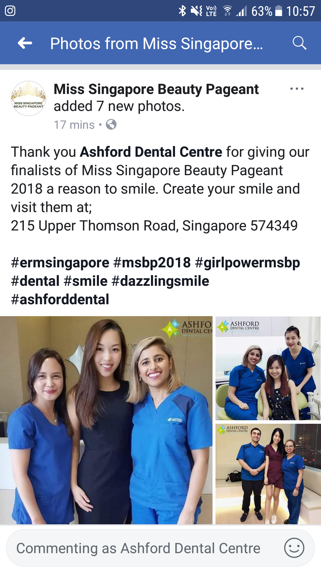 Ashford Dental Centre Screenshot_20180820-105723 Ashford proud to be chosen as sponsors for 2018 Miss SG Pageant. All the best to all the finalists! Uncategorized