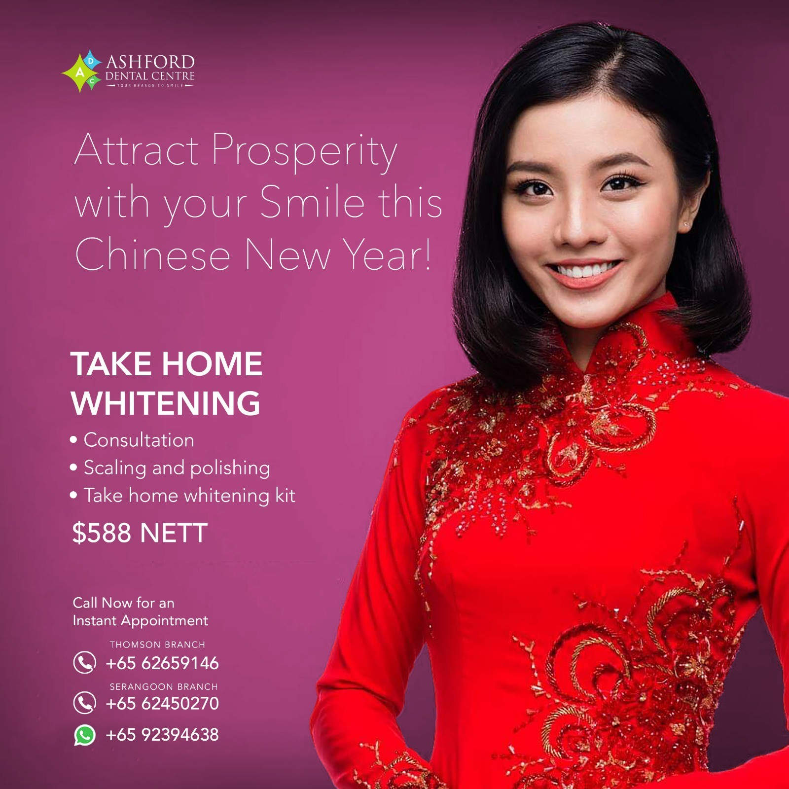 Ashford Dental Centre attract-prosperity Chinese New Year Uncategorized